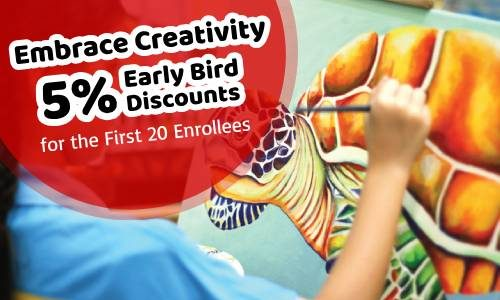5% Early Bird Discount