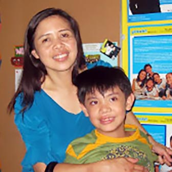 Jocelyn B. Veneracion, Mommy of Tristan